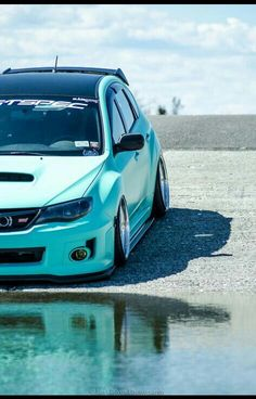 Teal and slammed , sti how i love you