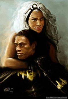 Kings and goddesses - Black Panther & Ororo aka storm
