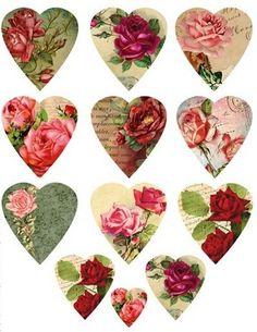 .Lindos corações românticos,curtam.............