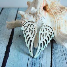 Kolczyki - Skrzydła anioła Brooch, Jewelry, Bracelets, Earrings, Silver, Jewellery Making, Bangle Bracelets, Ear Rings, Jewerly