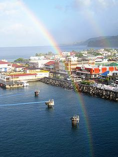 Roseau - Dominica!  So beautiful here
