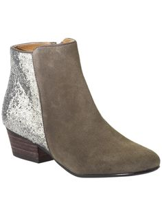 need flat boots for fall. why not glitter boots? #piperlime #kelsidagger