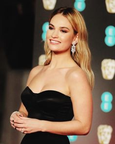 NEW | Lily attends the EE BAFTAs in London! [Sunday 18 February, 2018] #lilyjames