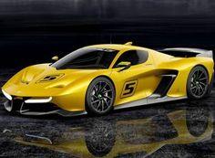 EF7, superesportivo lançado em Genebra por Emerson Fittipaldi – Divulgação