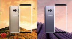 استعراض الوان هاتف #Galaxy_S8 من سامسونج  #الاخبار_التقنية  http://lnk.al/41qG