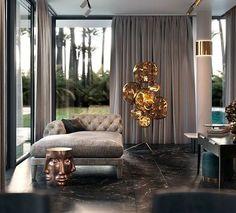 Clever and Stylish Living Room Storage Ideas Luxury Home Decor, Luxury Interior Design, Interior Architecture, Luxury Homes, Living Room Designs, Living Room Decor, Living Rooms, Luxury Living, Modern Living