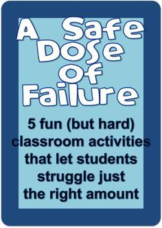 legos, origami, tangrams, juggling, and jigsaw puzzles...fun and challenging and allow just the right amount of struggling..from UsingMyTeacherVoice