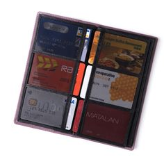 Zakerbi 'Z' Wallet Bespoke inner of separate inserts for ease of use. Fine Italian leather with RFID data protection Passport section and front slip Can be purchased separately