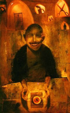 Dave McKean, from Wizard and Glass