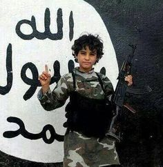 S SEEN ON THE DRUDGE REPORT: Gun-Toting 9  10 Year-Old Child Soldiers Join ISIS in Iraq  - The ISIS terror group is recruiting young children to fight for the caliphate. T