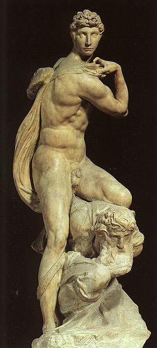 Michelangelo, Victory, c.1530  #TuscanyAgriturismoGiratola