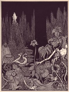 Harry Clarke, illustration for Edgar Allan Poe's Tales of Mystery and Imagination, 1919