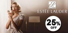 Toda a marca Estée Lauder com 25% de #desconto na Loja Glamourosa #esteelauder #makeup #cosmetics #discount #promo #lojaglamourosa