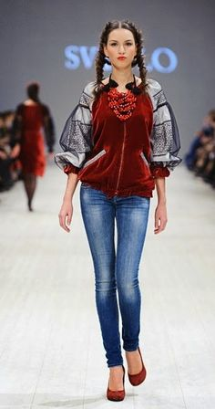 Fashion from Ukraine: Svitlo SS 2015 collection