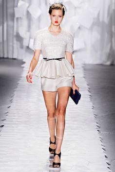 Lindsey Wixson at Jason Wu S/S 2012