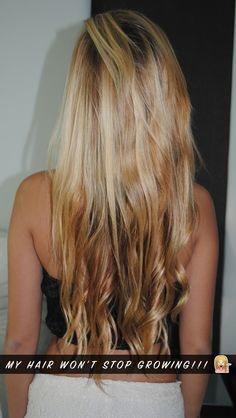 Ladies, how to make your hair grow faster naturally
