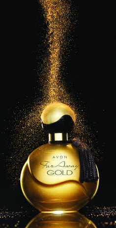 Experience the long lasting sophistication of Perfume with Mohali yang, precious Indian jasmine and seductive Madagascar. Try AVON Far Away Gold Perfume.
