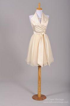 1970 Marilyn Monroe Vintage Wedding Dress