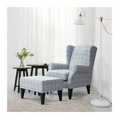 Chair Dolly For Stackable Chairs Key: 4411167823 Fabric Armchairs, Chair Fabric, Ikea Armchair, Wingback Chair, Comfortable Living Room Chairs, Parents Room, Plastic Adirondack Chairs, Stackable Chairs, Wing Chair