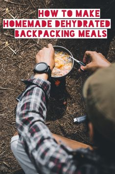 One of the joys of backpacking is a hearty meal after a long day on the trail. There are many delicious premade backpacking meals available, but you can easily create your own lightweight backcountry cuisine from your favorite recipes and a food dehydrato Dehydrated Backpacking Meals, Ultralight Backpacking, Backpacking Tips, Hiking Tips, Hiking Gear, Camping Meals, Family Camping, Camping Hacks, Camping Recipes