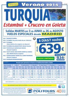 TURQUÍA - Estambul + Crucero en Goleta, sal. del 3/06 al 26/08 dsd Madrid (8d/7n) p. final dsd 834€ ultimo minuto - http://zocotours.com/turquia-estambul-crucero-en-goleta-sal-del-306-al-2608-dsd-madrid-8d7n-p-final-dsd-834e-ultimo-minuto-2/