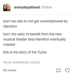 Yeah, basically what happened Theatre Nerds, Music Theater, Broadway Theatre, Broadway Shows, Tuck Everlasting Musical, Hamilton Musical, Disney Music, It Goes On, Plays