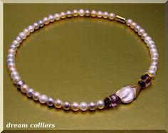 Perlenketten - Perlentraum - Perlencollier - ein Designerstück von Dream-Colliers bei DaWanda