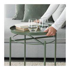 GLADOM トレイテーブル - ダークグリーン - IKEA