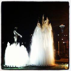 Fountain in Seattle
