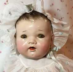 """EXTRAORDINARY Proto-Type 20"""" Dy-Dee Baby Doll from dollyologyvintagedolls on…"""