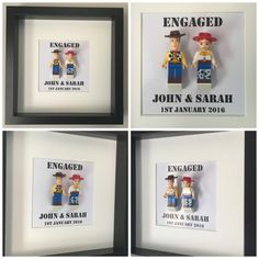 Woody And Jessie Engagement Frame New To The Shop ☺️