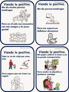 Estrategias para reconvertir los pensamientos negativos: Don Positivo :El sonido de la hierba al crecer