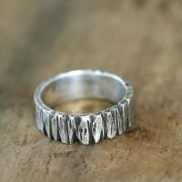 $54 - Amazing Ring! Sterling silver personalized name band ring by Monkeys Always Look #jewlery #personalized #ring