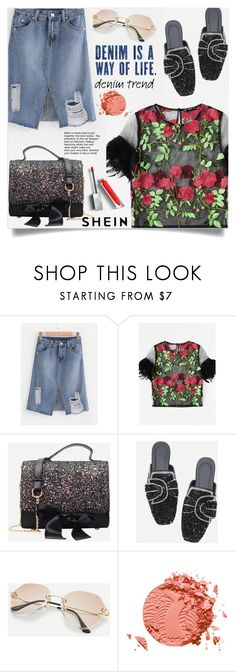 Designer Clothes, Shoes & Bags for Women Denim Skirts, Denim Trends, Polyvore Outfits, Burberry, Dreams, My Style, Romwe, Stuff To Buy, Shopping