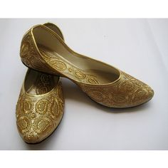 Gold Sequin Bridal Ballet Flats/Wedding Shoes/Paisley by FootSoles, $32.10