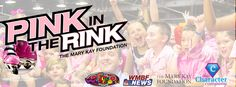 Pink In The Rink 2015 with The Mary Kay foundation at the Fun Warehouse on October 18 from 12-5p. #pinkintherink