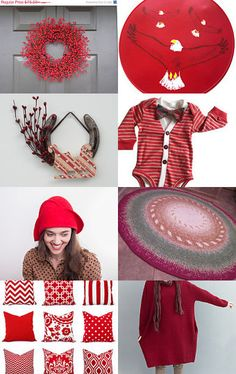 Christmas in Red by badaradio on Etsy--Pinned with TreasuryPin.com