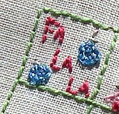 Needle and Thread Adventures: 25 Days of Christmas Stitchalong: Day 1