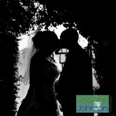 In wedding photography a beautiful silhouette can be stunning. www.stephenjohnsonphotography.com
