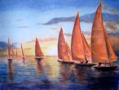 Romacof (pastel drawing -2004) (regata)