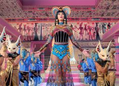 Katy Perry's 'Dark Horse' Music Video: Look By Look. Absolutely love this dress!