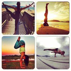 #atitudeboaforma: Top 4 ioga! Hoje é dia de um novo desafio @Boa Forma  @alineguedesbiagi, @invertisa, @sasouzayoga e @anapaulafronza ➡️ E a missão ioga continua! Se você pratica, tire uma foto do seu melhor momento e compartilhe no instagram usando a hashtag #atitudeboaforma. Quem aceita o nosso desafio do mês? #ioga #boaforma #exercicios