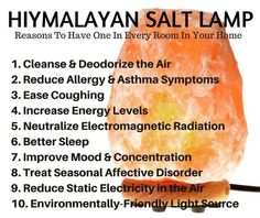 Amazing Remedies 10 Amazing Himalayan Salt Lamp Benefits - I recently discovered 10 amazing himalayan salt lamp benefits that I never even knew existed! As if the lamp itself were not beneficial enough when combined Stomach Ulcers, Asthma Symptoms, Himalayan Salt Lamp, Himalayan Salt Benefits, Coconut Health Benefits, Stop Eating, How To Increase Energy, Natural Cures, Natural Healing