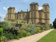 Hardwick Hall - Derbyshire - UK.. this was my great x7 aunts home.. Bess of Hardwick