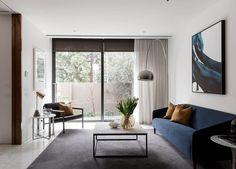 Living Room | Open House: 127 Wellington Parade South, East Melbourne | Jellis Craig | est living