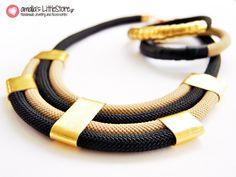 Χειροποίητα Κοσμήματα, Κολιέ   Egypt Black   littlestore.gr, Χειροποίητα κοσμήματα και αξεσουάρ