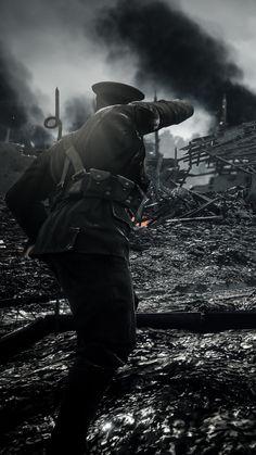 Battlefield 1, Modern Warfare Pc, Ww1 Art, Ww1 Soldiers, Steampunk Airship, Electronic Arts, Fallout Art, War Photography, Fantasy Warrior