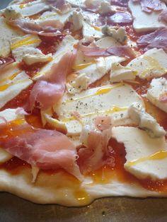 Leftovers pizza