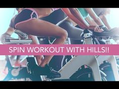 15 Minute Indoor Cycling Class (SPIN WORKOUT WITH HILLS!!) - YouTube