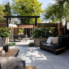 Garden Deco, Big Garden, Dream Garden, Home And Garden, Outdoor Living Rooms, Outside Living, Terrace Design, Garden Design, Interior Garden